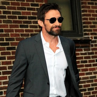 Hugh Jackman in Celebrities for The Late Show with David Letterman - hugh-jackman-late-show-with-david-letterman-06
