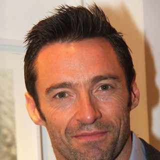 Hugh Jackman in The Nomad Two Worlds Russell James Exhibit Opening
