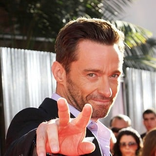 Hugh Jackman in Los Angeles Premiere of Real Steel