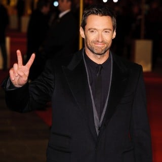 Hugh Jackman in Les Miserables World Premiere - Arrivals