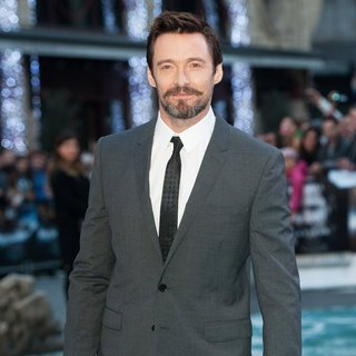 Hugh Jackman in U.K. Premiere of Noah - Arrivals