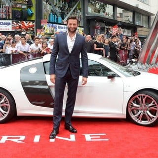 Hugh Jackman in The Wolverine U.K. Film Premiere - Arrivals