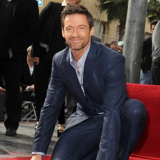 Hugh Jackman in Hugh Jackman Is Honoured with A Hollywood Star on The Hollywood Walk of Fame
