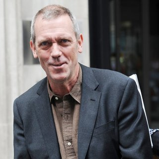 Hugh Laurie in Hugh Laurie Outside The BBC Radio 2 Studios