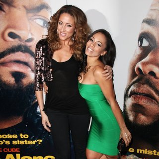 Mica Hughes, Melyssa Ford in Universal Pictures Premiere of Ride Along
