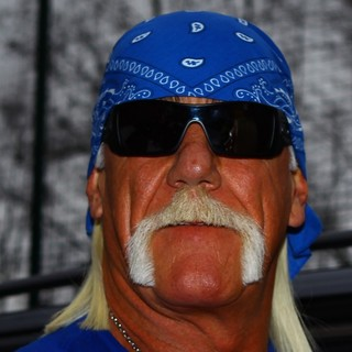 Hulk Hogan in Hulk Hogan Arriving at Talksport Radio Studios