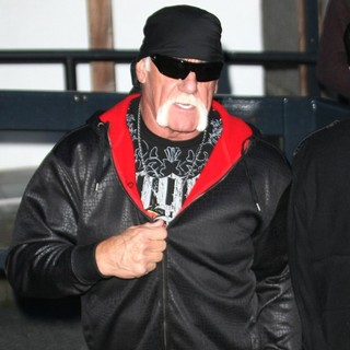 Hulk Hogan in Celebrities at ITV Studios