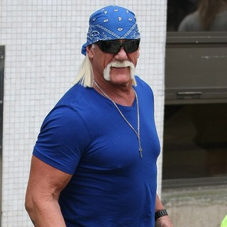 Hulk Hogan in Celebrities at The ITV Studios