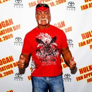 Hulk Hogan in Hulk Hogan and The Legends of Wrestling Fan Appreciation Day