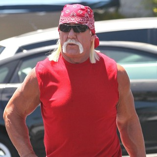 Hulk Hogan in Hulk Hogan Filming A Commercial