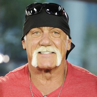 Hulk Hogan in Celebrities on Global TV's The Morning Show