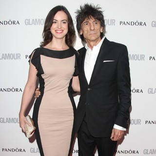 Sally Humphreys, Ronnie Wood in The Glamour Women of The Year Awards 2012 - Arrivals