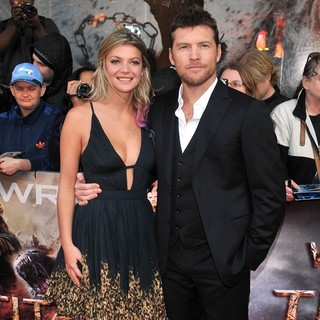 Crystal Humphries, Sam Worthington in UK Premiere of Wrath of the Titans