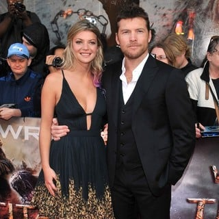 Sam Worthington in UK Premiere of Wrath of the Titans - humphries-worthington-uk-premiere-of-wrath-of-the-titans-01