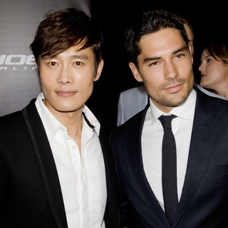 Lee Byung-hun, D.J. Cotrona in G.I. Joe: Retaliation - Sydney Premiere