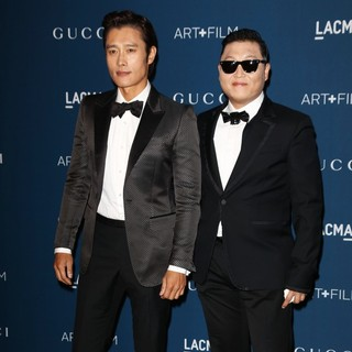 Lee Byung-hun, PSY in LACMA 2013 Art and Film Gala Honoring Martin Scorsese and David Hockney Presented by Gucci