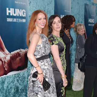 Rebecca Creskoff, Jane Adams in Los Angeles Premiere 'Hung' Season Two - Arrivals