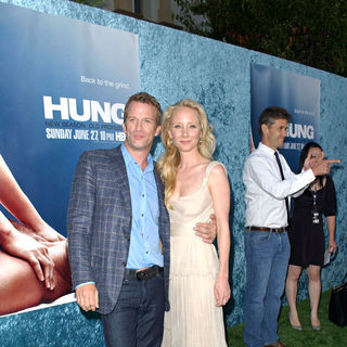 Thomas Jane, Anne Heche in Los Angeles Premiere 'Hung' Season Two - Arrivals