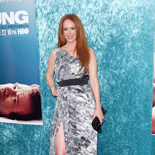 Rebecca Creskoff in Los Angeles Premiere 'Hung' Season Two - Arrivals