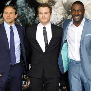 Charlie Hunnam, Robert Kazinsky, Idris Elba in European Premiere of Pacific Rim - Arrivals