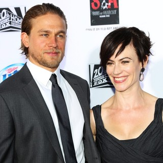 Charlie Hunnam, Maggie Siff in Premiere of FX's Sons of Anarchy Season Six - Arrivals