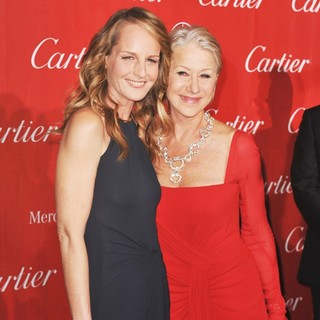 Helen Hunt, Helen Mirren in 24th Annual Palm Springs International Film Festival Awards Gala - Red Carpet