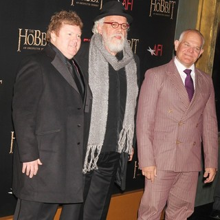 Stephen Hunter, John Callen, Mark Hadlow in Premiere of The Hobbit: An Unexpected Journey
