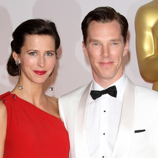 Benedict Cumberbatch in The 87th Annual Oscars - Red Carpet Arrivals - hunter-cumberbatch-87th-annual-oscars-01