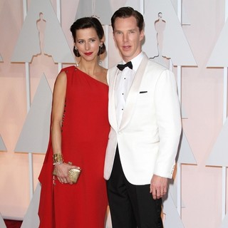 Benedict Cumberbatch in The 87th Annual Oscars - Red Carpet Arrivals - hunter-cumberbatch-87th-annual-oscars-02
