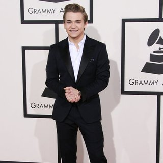 Hunter Hayes in The 56th Annual GRAMMY Awards - Arrivals