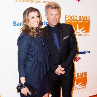 Dorothea Hurley, Jon Bon Jovi in Food Bank for New York City's Can Do Awards Dinner Gala