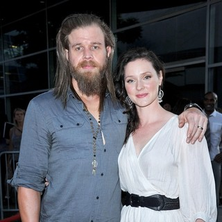 Ryan Hurst, Molly Cookson in Screening of FX's Sons of Anarchy Season 4 Premiere