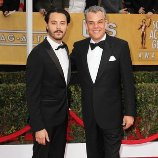 Jack Huston, Danny Huston in 19th Annual Screen Actors Guild Awards - Arrivals