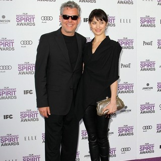 Danny Huston, Olga Kurylenko in 27th Annual Independent Spirit Awards - Arrivals