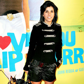 Reem Kherici in The French premiere of 'I Love You Phillip Morris'