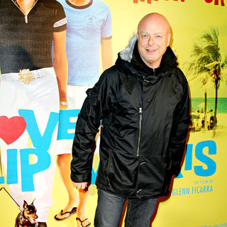 Gerard Krawczyk in The French premiere of 'I Love You Phillip Morris'