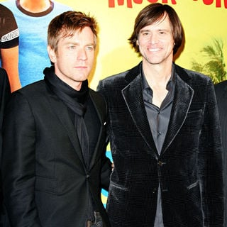 Jim Carrey, Ewan McGregor in The French premiere of 'I Love You Phillip Morris'