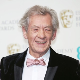 Ian McKellen in The 2013 EE British Academy Film Awards - Press Room