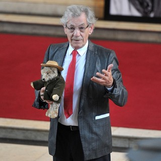 Ian McKellen in Memorial Service for Pam Gems