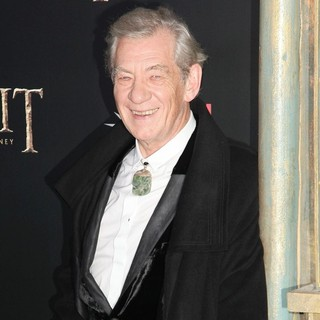 Ian McKellen in Premiere of The Hobbit: An Unexpected Journey