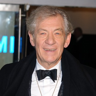 Ian McKellen in The Hobbit: An Unexpected Journey - UK Premiere - Arrivals