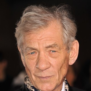 Ian McKellen in Variety Club Showbiz Awards