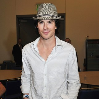 Ian Somerhalder in Comic Con 2011 - Celebrities at The Convention Centre - The Vampire Diaries Press Conference