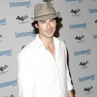 Ian Somerhalder in Comic Con 2011 Day 3 - Entertainment Weekly Party - Arrivals