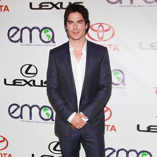 Ian Somerhalder in 2012 Environmental Media Awards - Arrivals