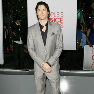 Ian Somerhalder in 2012 People's Choice Awards - Arrivals