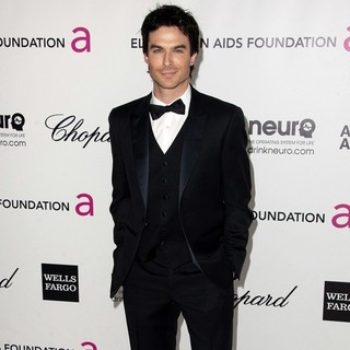 Ian Somerhalder in The 20th Annual Elton John AIDS Foundation's Oscar Viewing Party - Arrivals