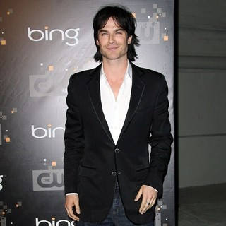 Ian Somerhalder in The CW's Premiere Party