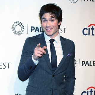 Ian Somerhalder in PaleyFest 2014 - The Vampire Diaries Presentation