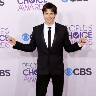 Ian Somerhalder in People's Choice Awards 2013 - Red Carpet Arrivals
